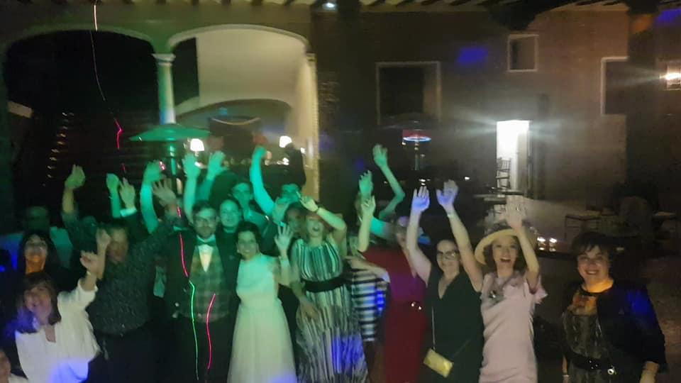 Boda fiesta discomovil